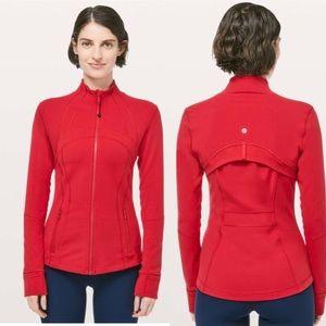 Lululemon Define Jacket Dark Red Size 8